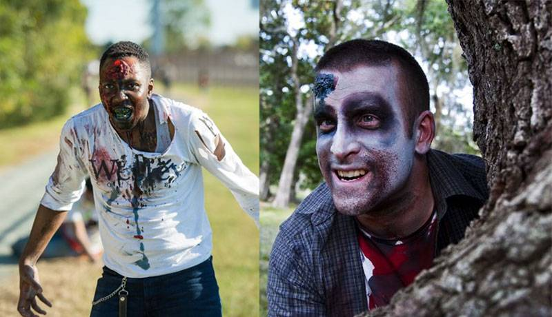 Maquillaje Zombie Hombre